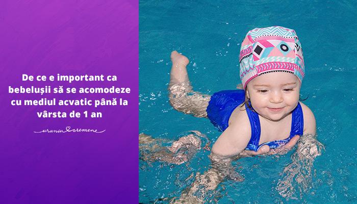5 motive să îți înscrii copilul la lecții de înot