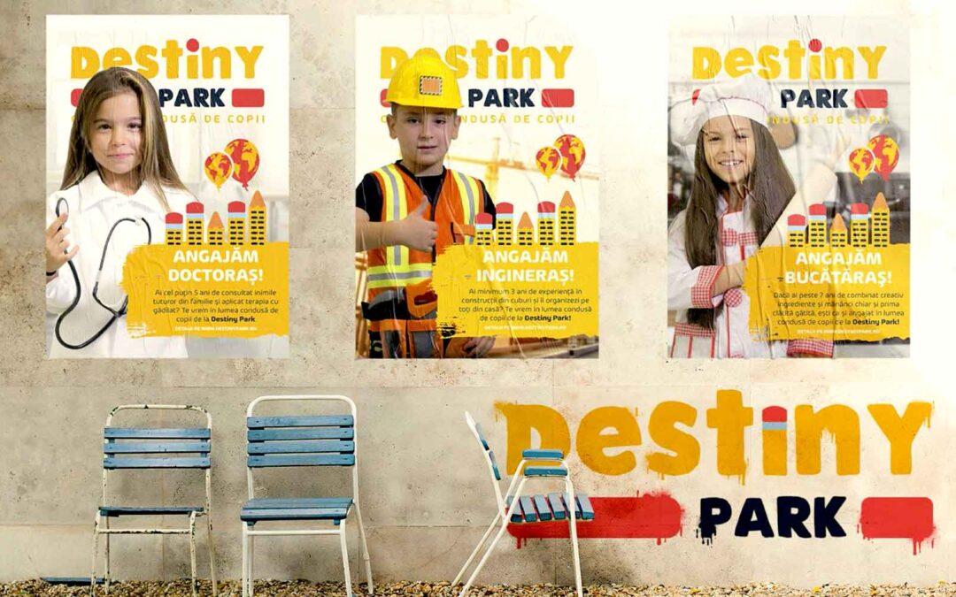 Destiny Park - afișe promovare